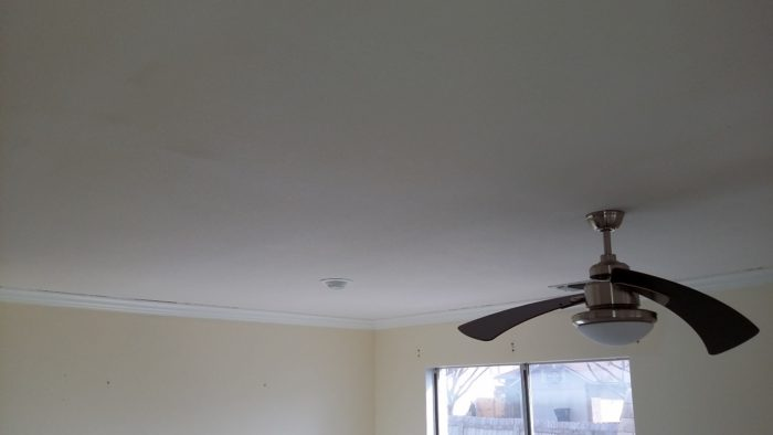 Smooth Ceiling Finish